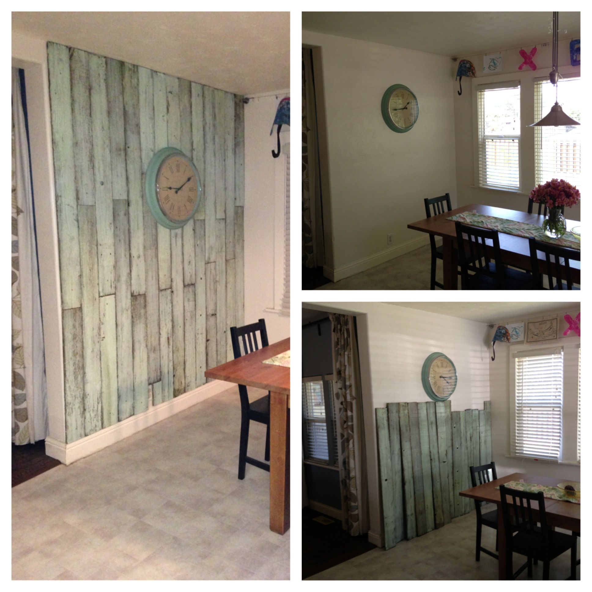 Using Old Fence Pickets For Accent Wall: Old Fence Boards, Fence Boards