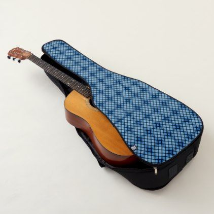 Guitar Case Electric Or Acoustic Blue Diamond Zazzle Com Guitar Bag Guitar Case Backpack Straps