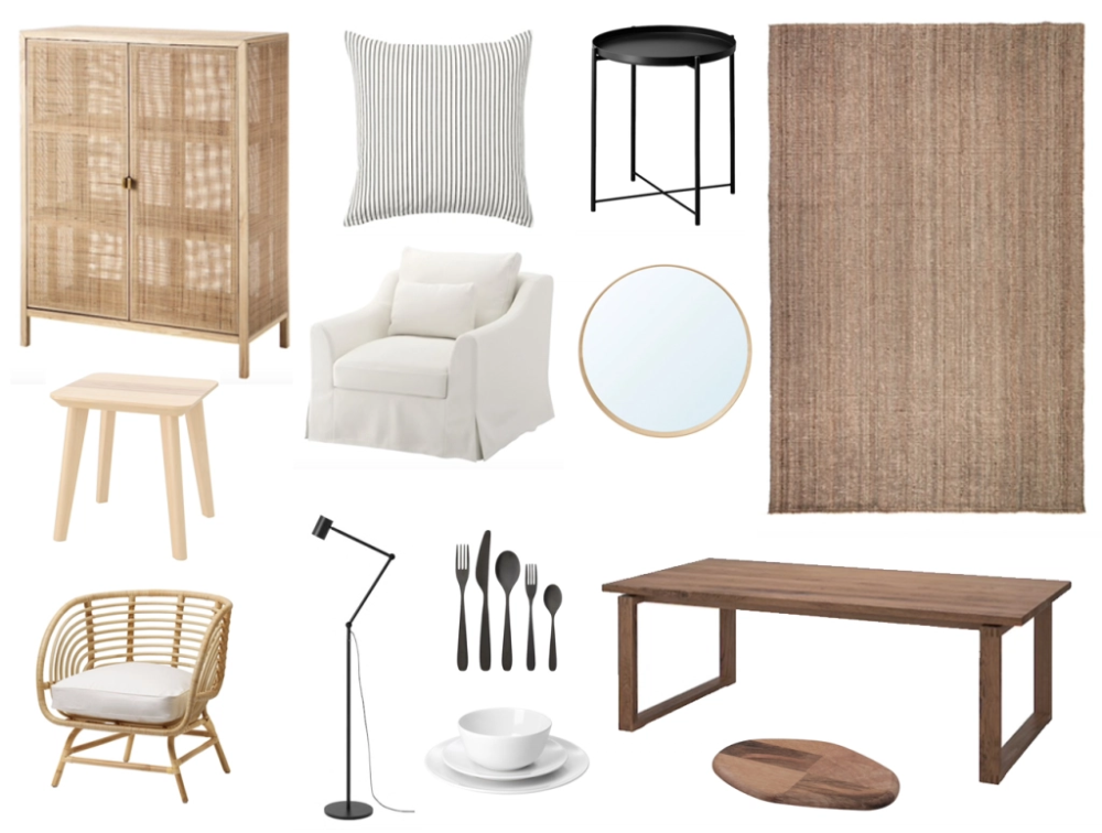the best of ikea black white  natural pieces that look