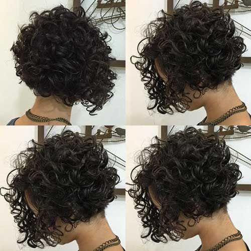 Very Popular Curly Short Hairstyles Hairiz Haarschnitt Fur Lockige Haare Lockige Frisuren Haarschnitt Bob