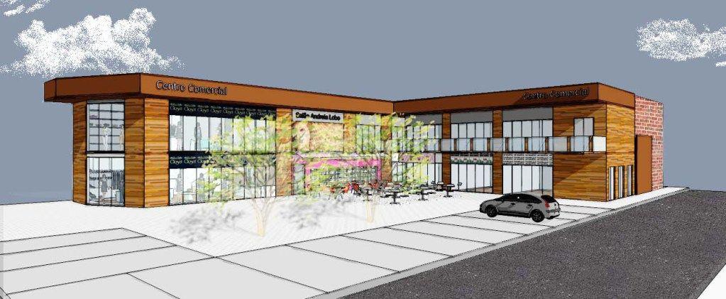 Galeria comercial projeto para constru o de uma galeria - Galeria comercial ...