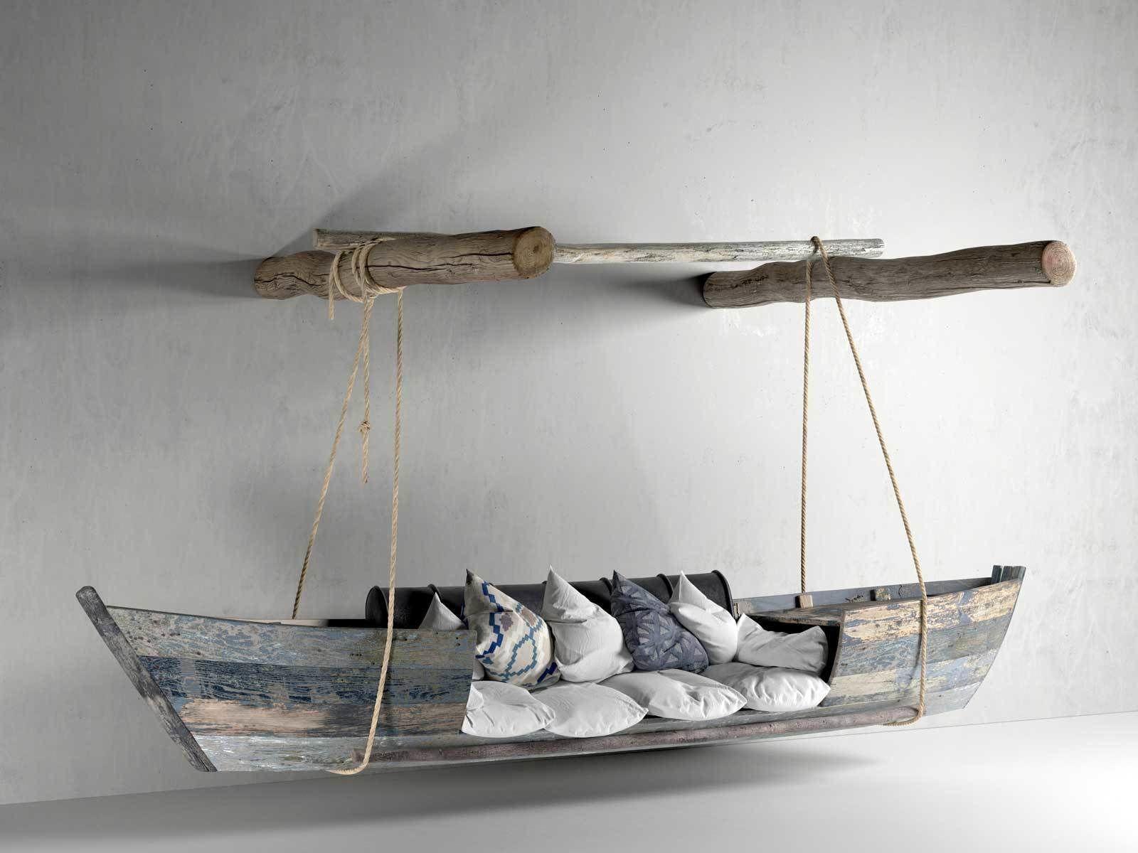 Hanging Boat Sofa   3D model in 2020   Boat furniture ...
