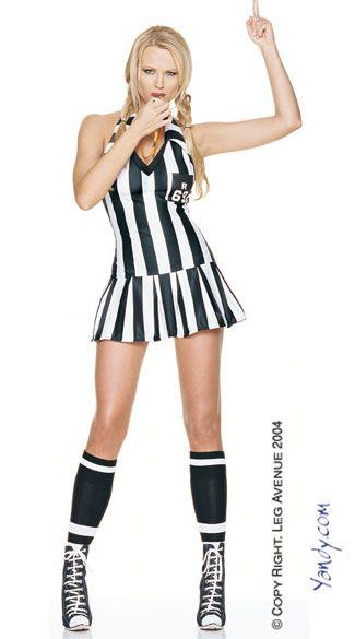e1b6668bcefa52 Me  Football Referee Halloween Costume. Brooke  Cheerleader. Taylor   Football Player