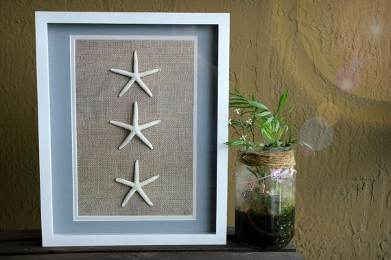 Starfish And Sand Dollar 11x14 Shadowbox Frame Set Etsy Starfish Wall Art Sand Dollar Art Etsy Wall Art