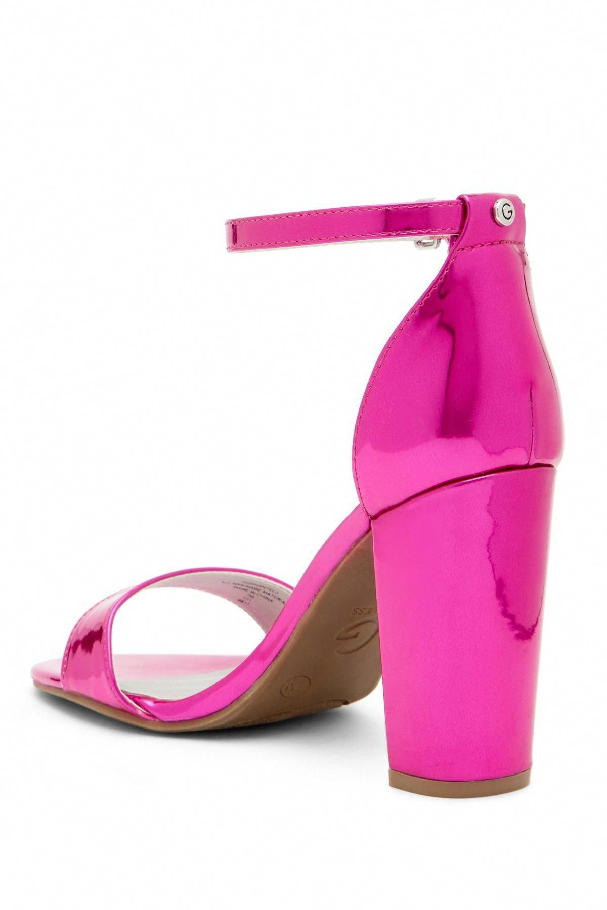 f159a47f499 Shantel Ankle Strap Heeled Sandal by G by GUESS on  nordstrom rack   StilettoHeels
