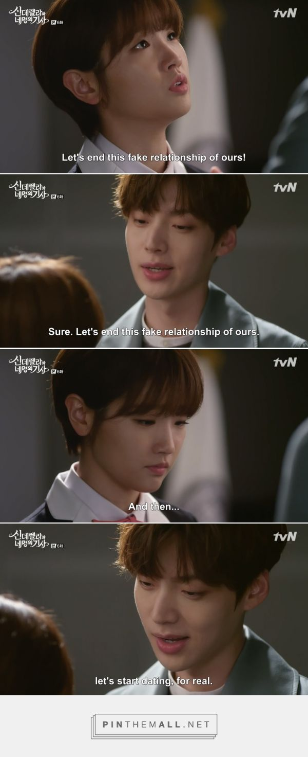 Cinderella and Four Knights | Korean drama quotes ...