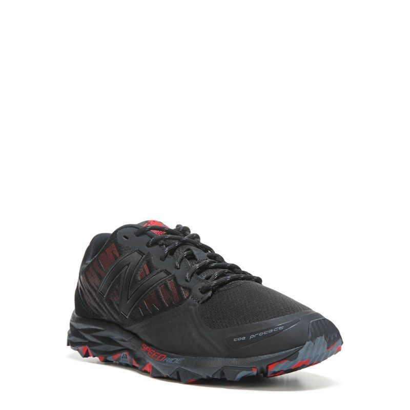 New Balance Men's 690 V2 Medium/X-Wide Trail Running Shoes (Black/Red) - 11.0 4E