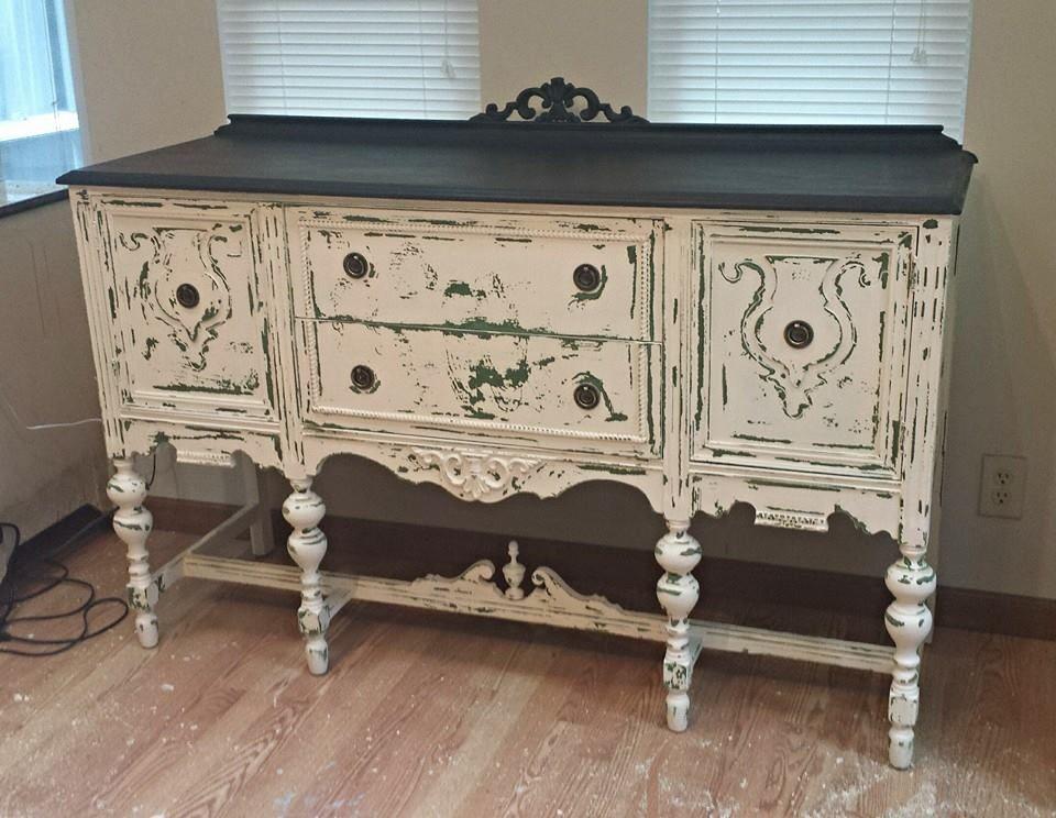Lynn S Buffet Paint Upholstery Home Decor Upholstery