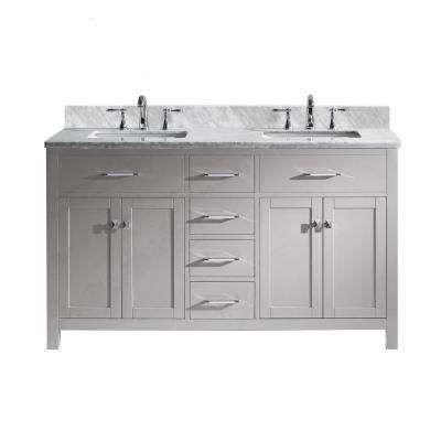Nice 60 Inch Bathroom Vanity , Luxury 60 Inch Bathroom Vanity 37 For Home  Decoration Ideas With 60 Inch Bathroom Vanity ...