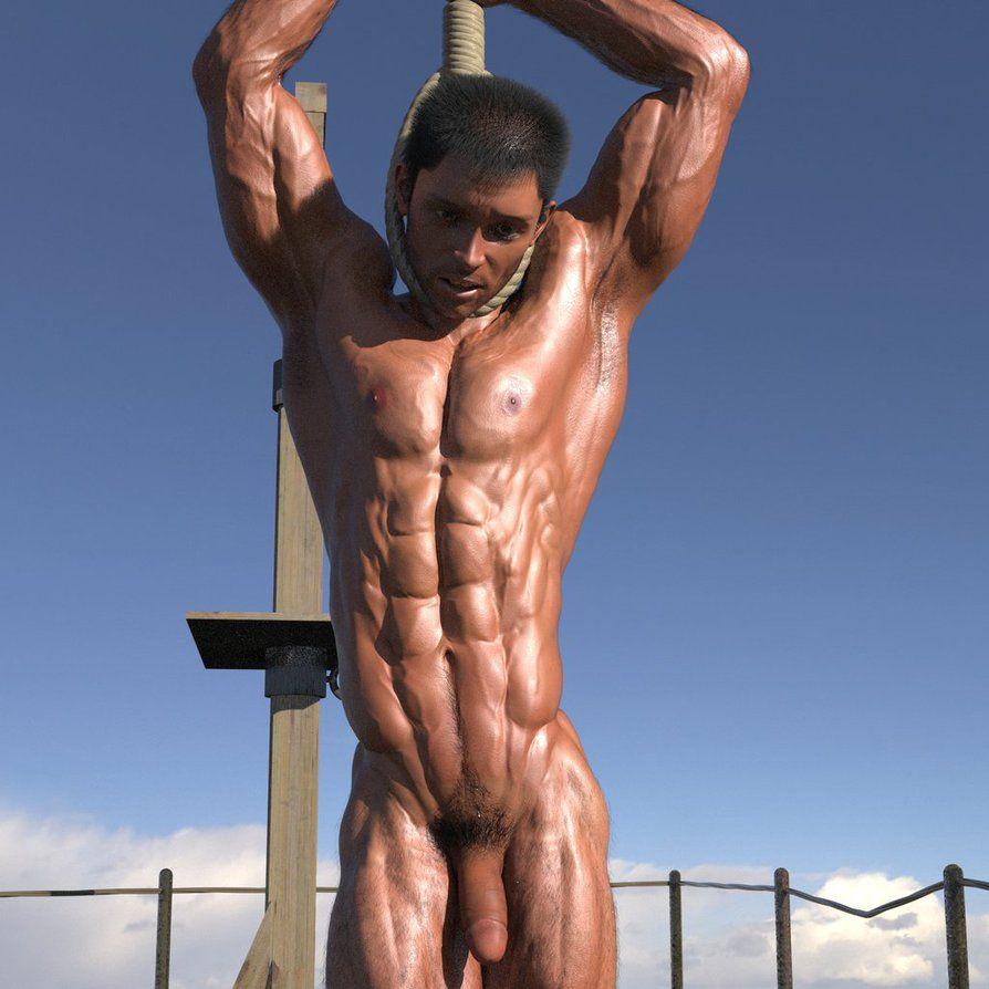 85b Hanged Man 02 by homoeros