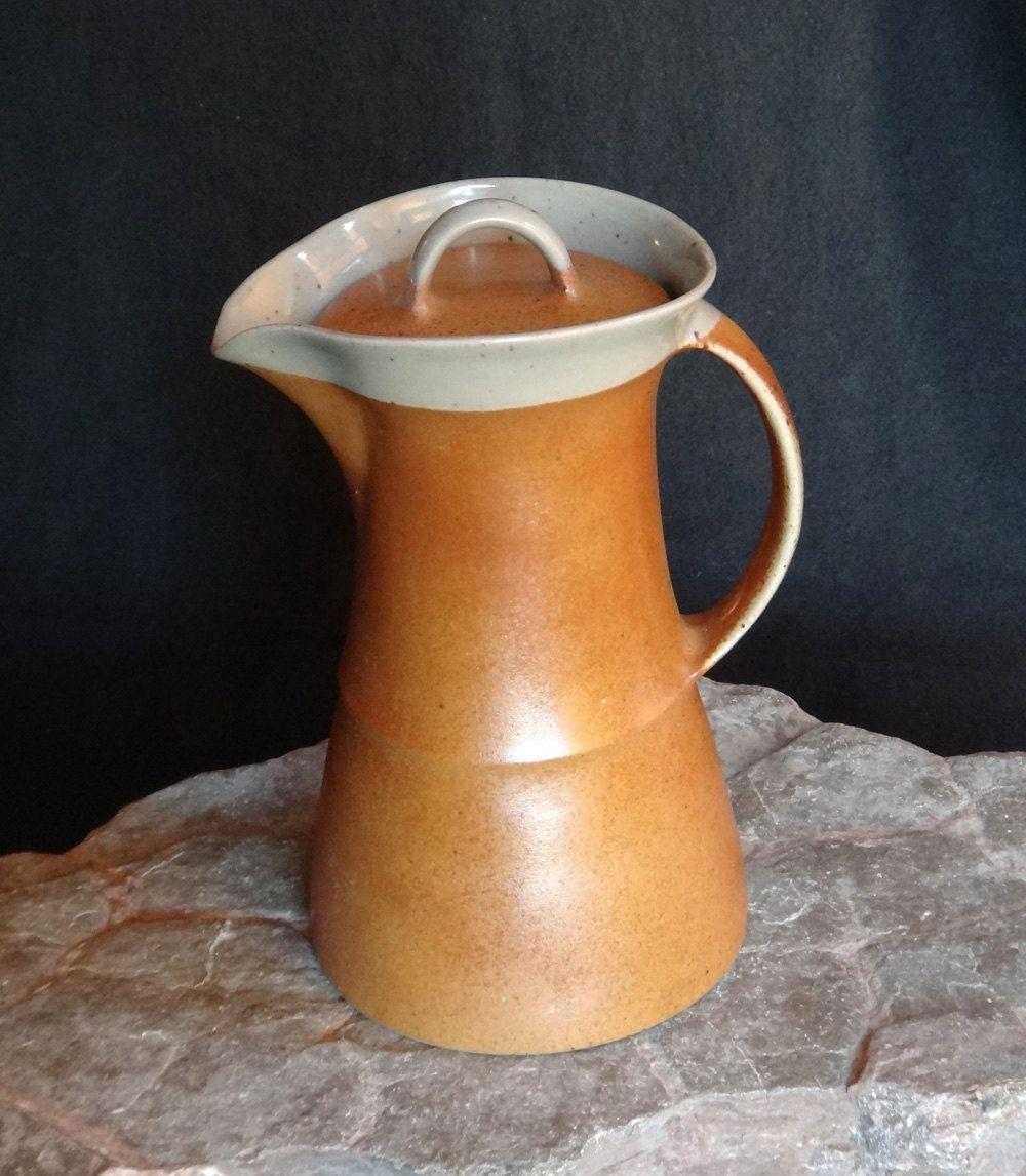 Pichet ou pot à café avec couvercle SIAL 2 Oval par Gaétan