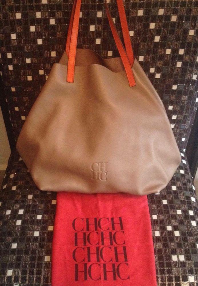 Pre-owned - Leather bag Carolina Herrera z4TuohDV4