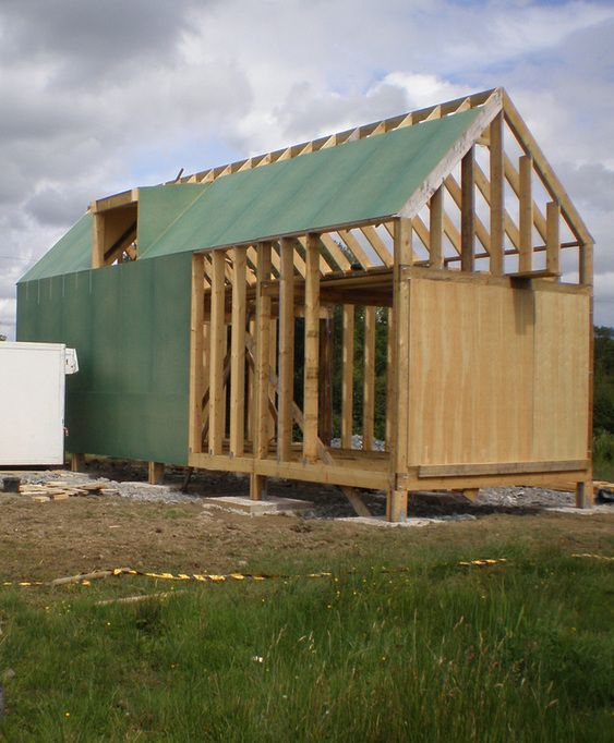 Panel Vent Hovel In The Hills Self Build Houses Tiny
