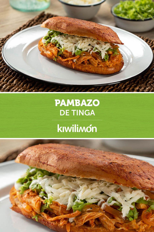 Pambazo De Tinga Receta Recetas De Comida Mexicana Comida Comida Sana Recetas