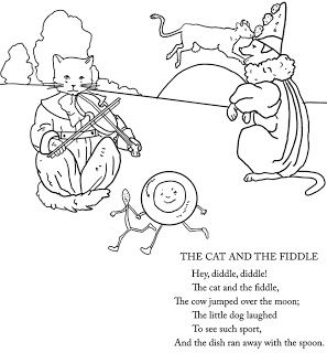 Pin By Erin Hurt On Projects To Try Nursery Rhymes Coloring