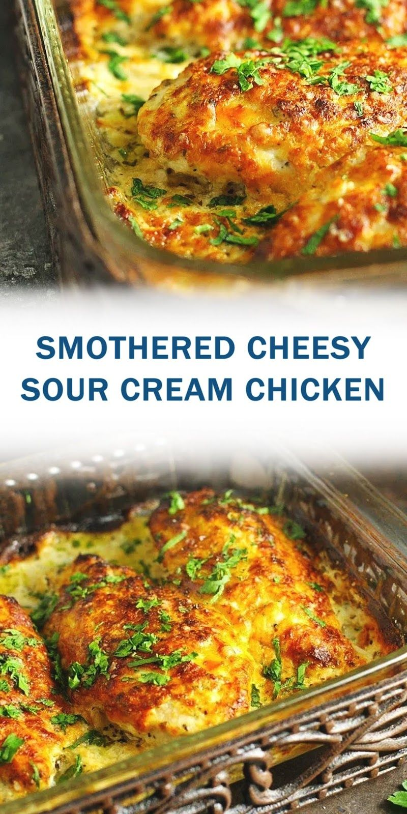 Smothered Cheesy Sour Cream Chicken Ah Minegud Belish In 2020 Easy Chicken Recipes Easy Chicken Dinner Recipes Best Chicken Recipes