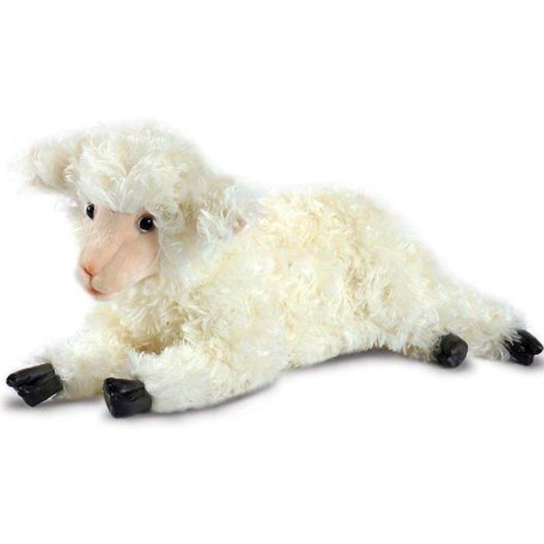 HANSA Cuddly Sheep with Lifelike Face and Soft Plush Fur