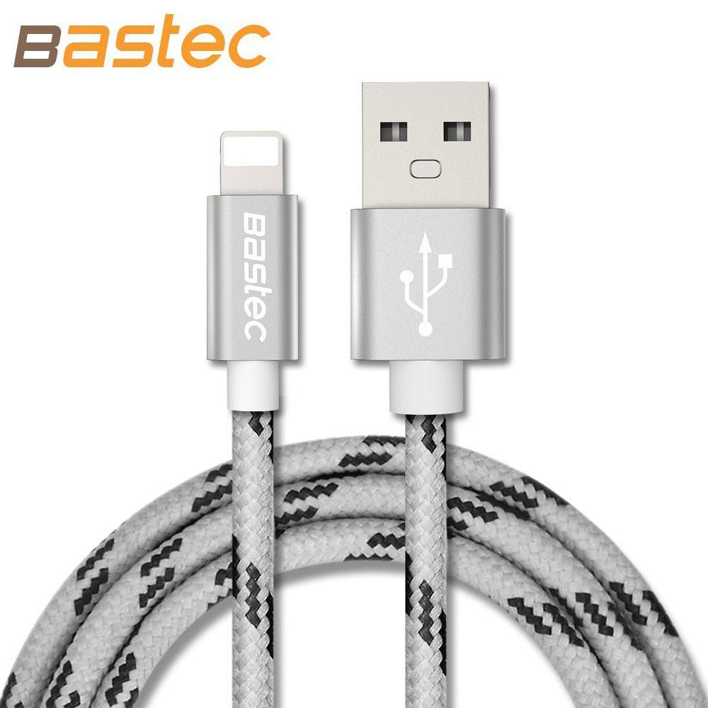 Bastec Neueste 8 pin Metall Litze USB Sync Daten Kabel Für iphone 6 ...