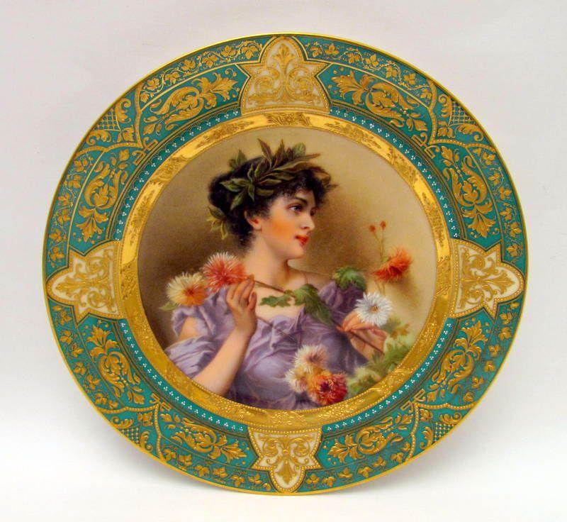 250 Porcelain Royal Vienna Ideas Vienna Porcelain Plates
