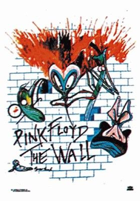 pink floyd the wall fabric poster pink floyd art pink floyd on pink floyd the wall id=63493