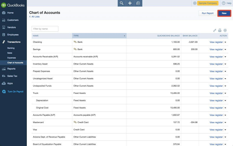 Nonprofit Chart Of Accounts Template Unique Sample Chart Of Accounts For Non Profit Quickbooks Chart In 2020 Chart Of Accounts Accounting Quickbooks