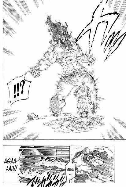 Nanatsu no Taizai: Vampire King Izraf vs. Escanor | Mugen Otaku ...