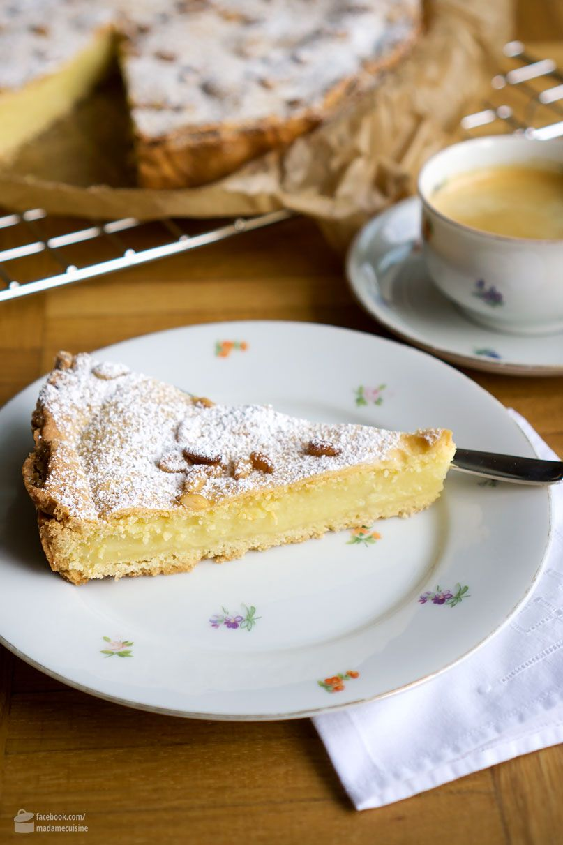 Torta della Nonna, eine Italienische Spezialität - Madame Cuisine