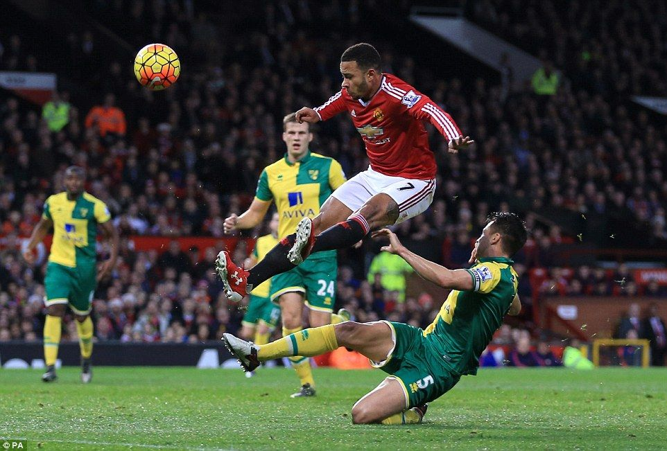 Manchester United 12 Norwich City Jerome and Tettey