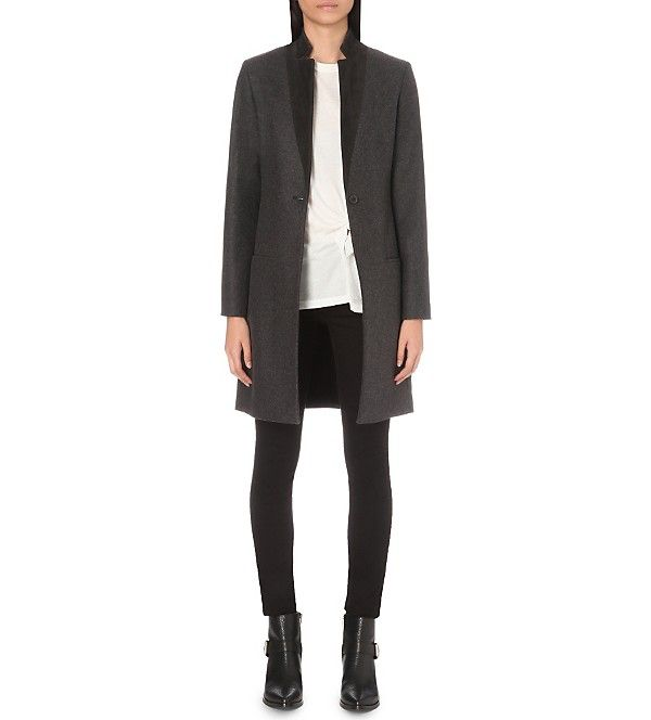 ALLSAINTS Leni wool blend coat | | Wool