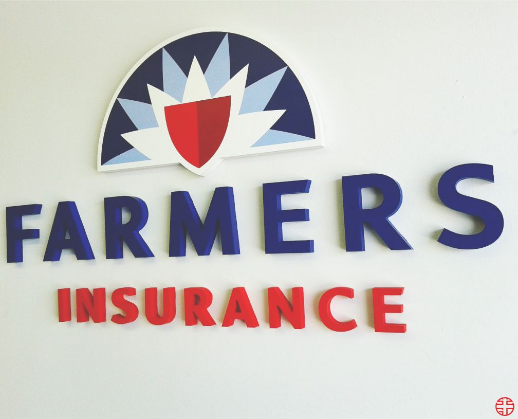 Farmers Insurance Channel Letters Call Us Today For A Free Quote