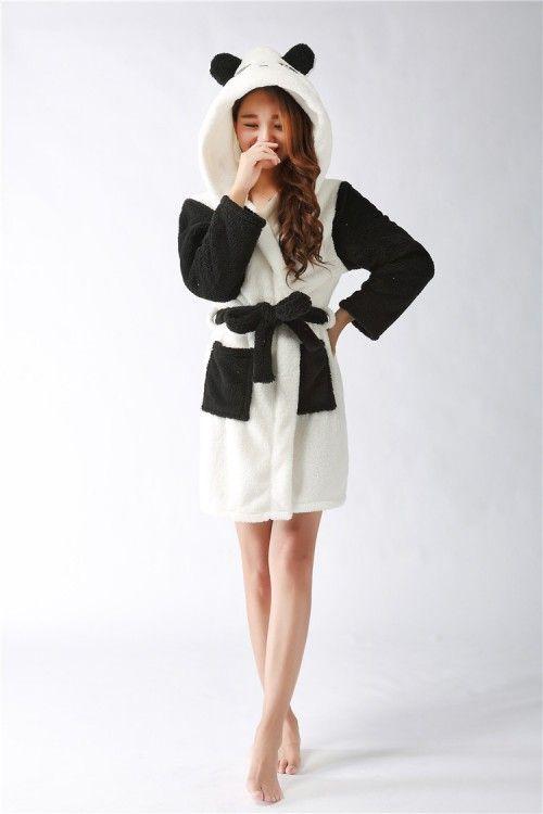 Panda Kigurumi Bathrobe 2015 Christmas Robes | Panda and Dressing gown