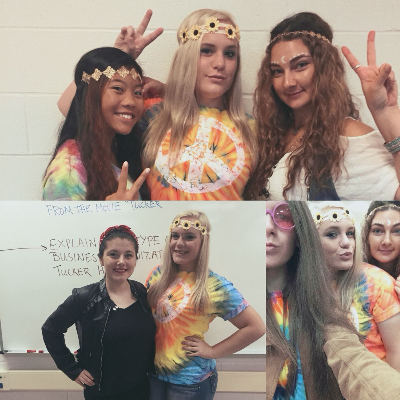 Decade day! hippie bohemian Spirit week outfits
