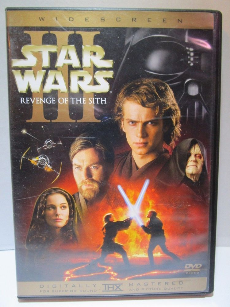 Star Wars Episode Iii Revenge Of The Sith Dvd 2005 2 Disc Set Widescreen Lucasfilm Star Wars Episodes Star Wars Revenge