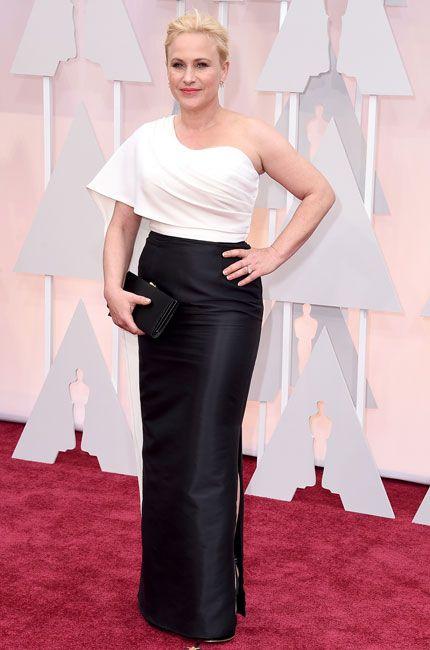 Gallery 2015 Oscars Red Carpet. Patricia Arquette,  Rosetta Getty.