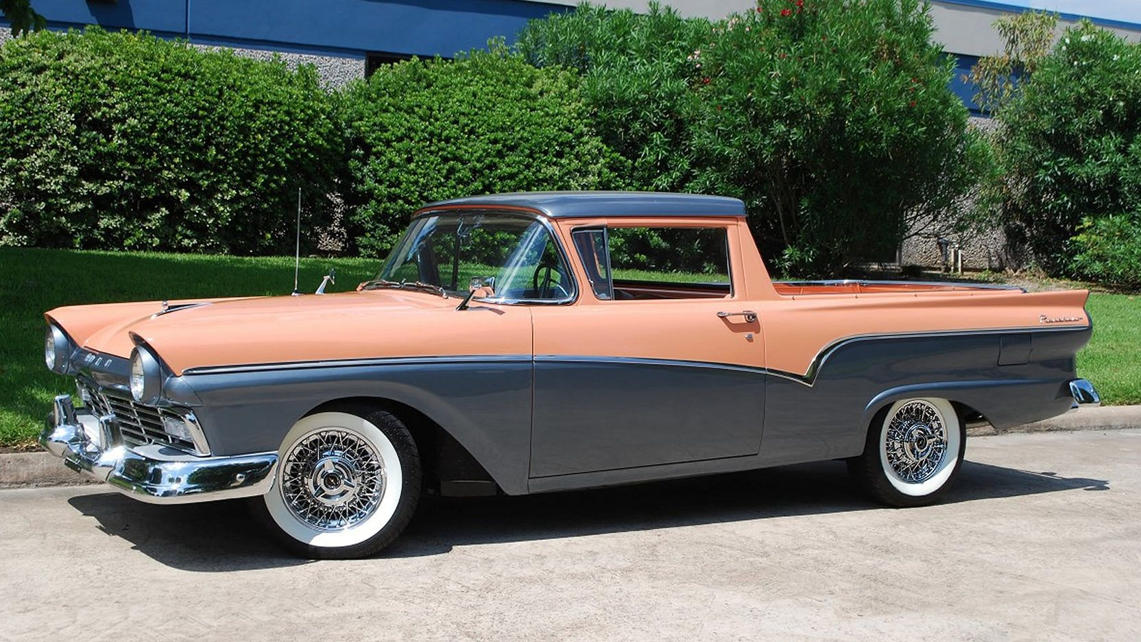 1957 Ford Ranchero presented as Lot S131 at Houston, TX | FORD ...