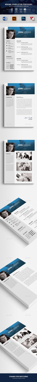 Clean Resume Desain Portofolio