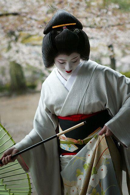 Ichisayo By Watanabe San Geisha Japan Japanese Kimono Kimono Japan