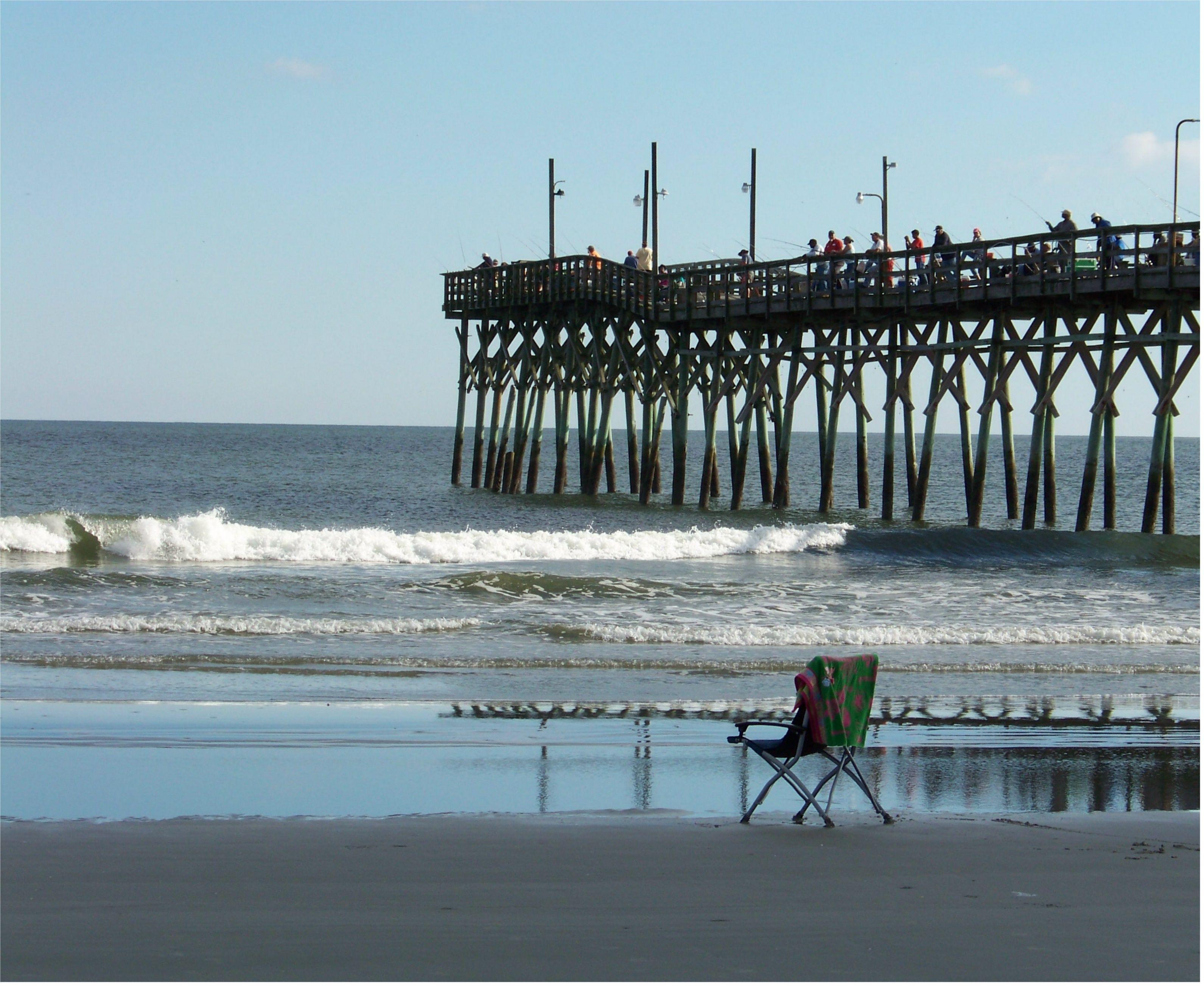 Sunset Beach Fishing Pier Nc 9 30 14