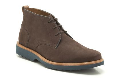 1e2b1412064a37 Mens Formal Boots in Dark Brown Nubuck - Fulham Hi from Clarks shoes ...