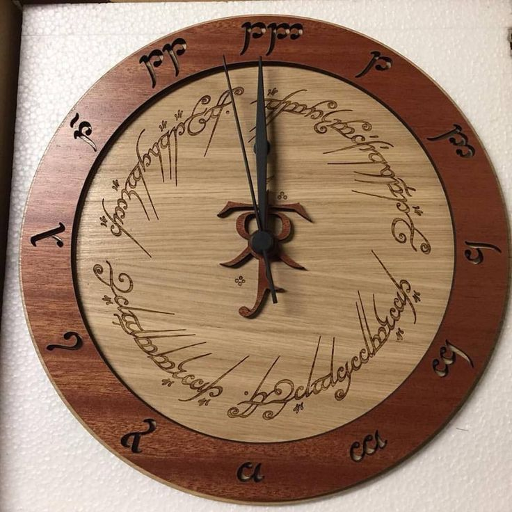 The Lord of the Rings Clock