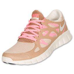 official photos c7f15 2f845 Womens Nike Free Run+ 2 Running Shoes  FinishLine.com  SilverWhite