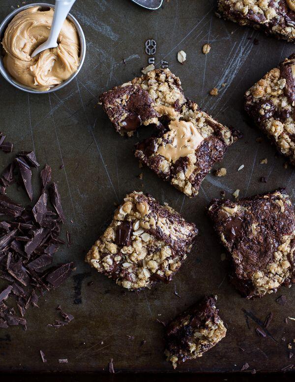 09b673417eb1 Oatmeal Chocolate Chunk Cookie Peanut Butter Swirled Brownies ...