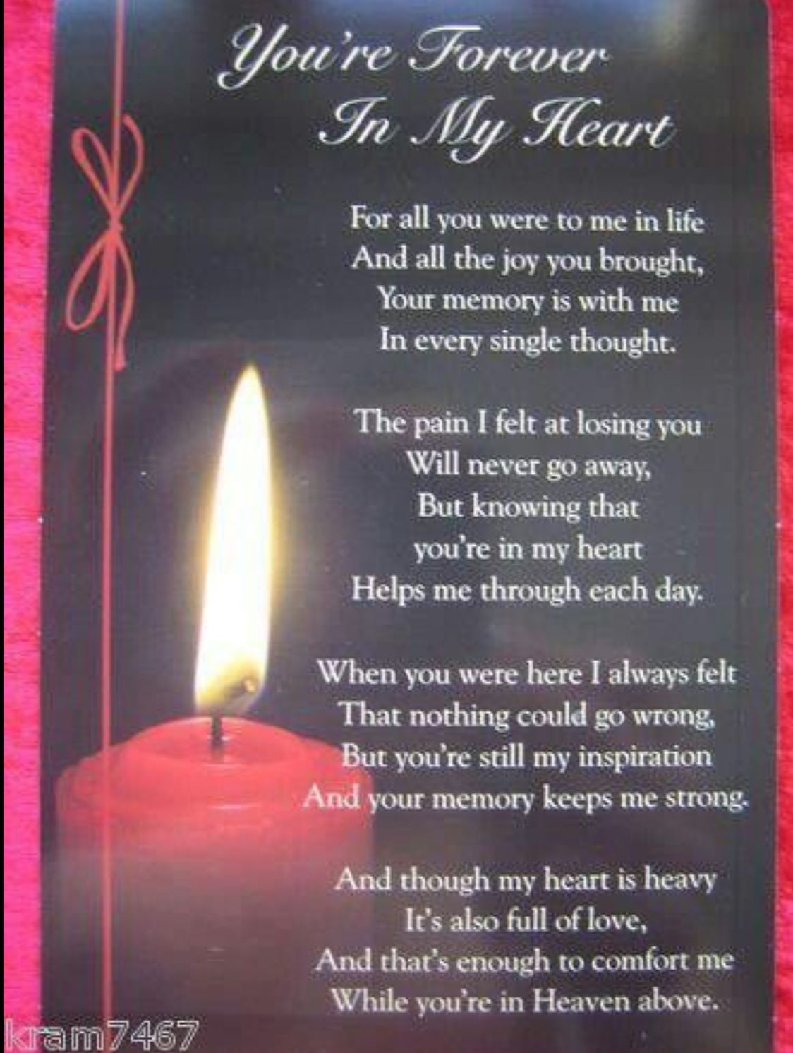 Pin by Penny Whary on Memorials Mom in heaven