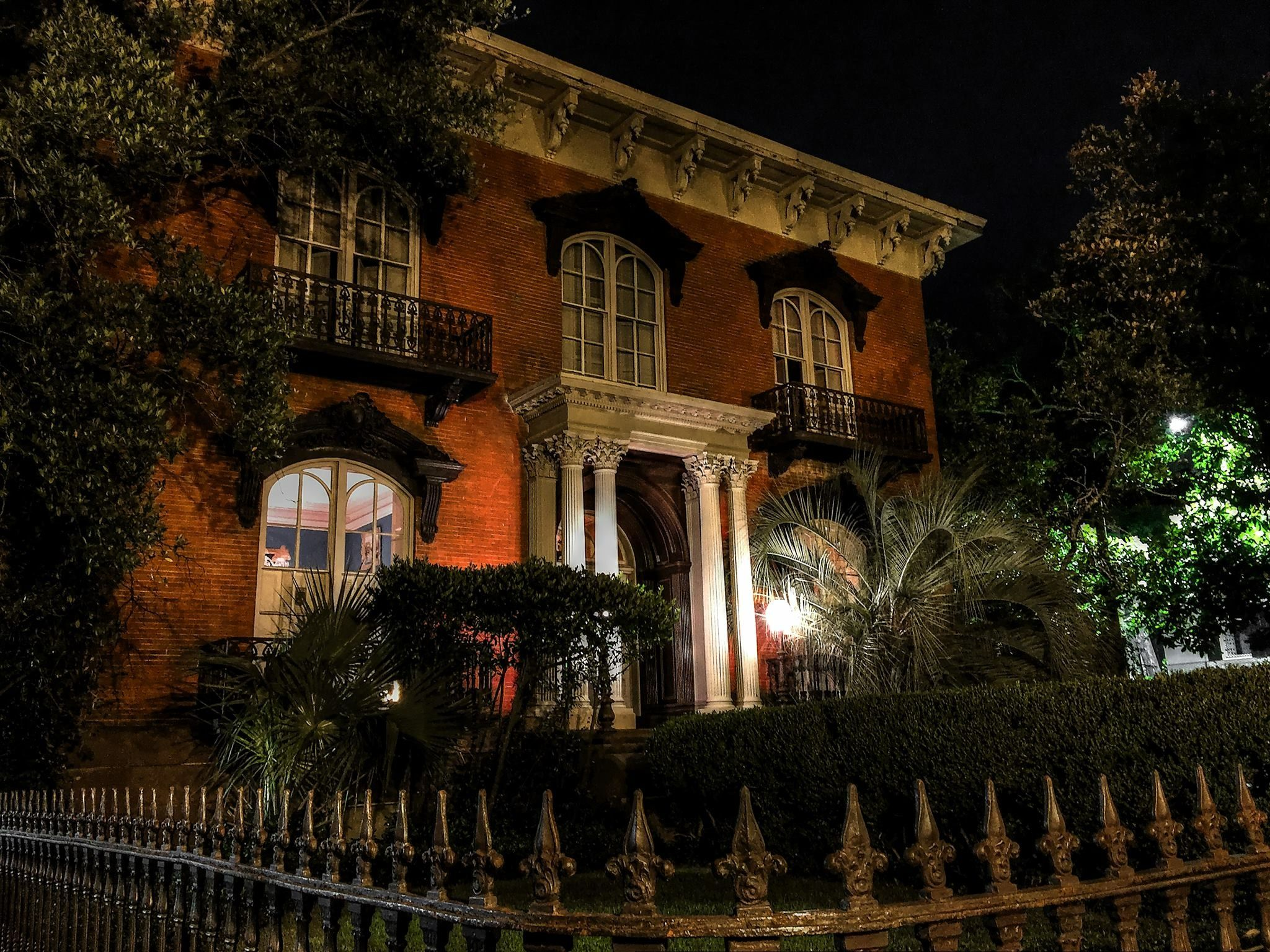 Merced-Williams House in Haunted Savannah. Midnight in the Garden of ...