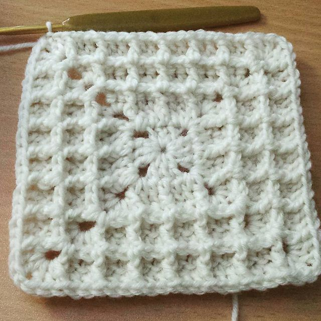 Ravelry: Squared Waffle pattern by Buttonnose Crochet | Patrones ...