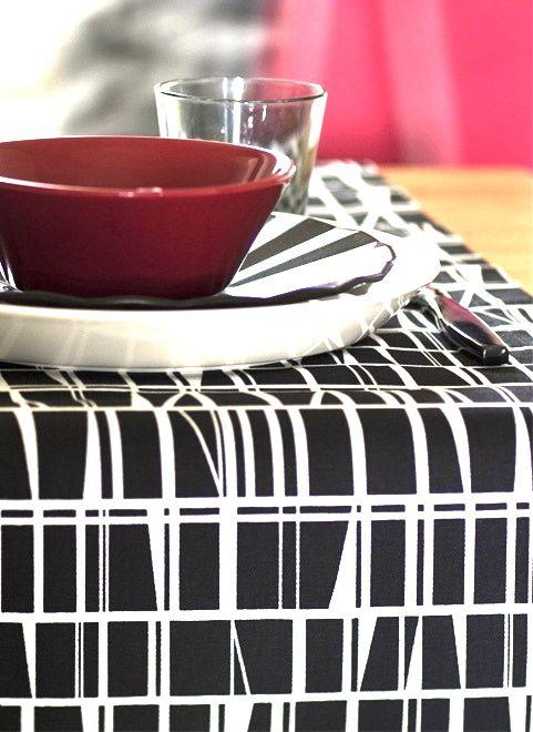 Via Finlayson | Finlayson Table Cloth | iittala Teema Bowl