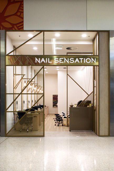 Nail Sensation Nail Bar Salon Design Suburban Design Construct Retail Commercial Shopf Salon Interior Design Nail Salon Interior Design Salon Decor