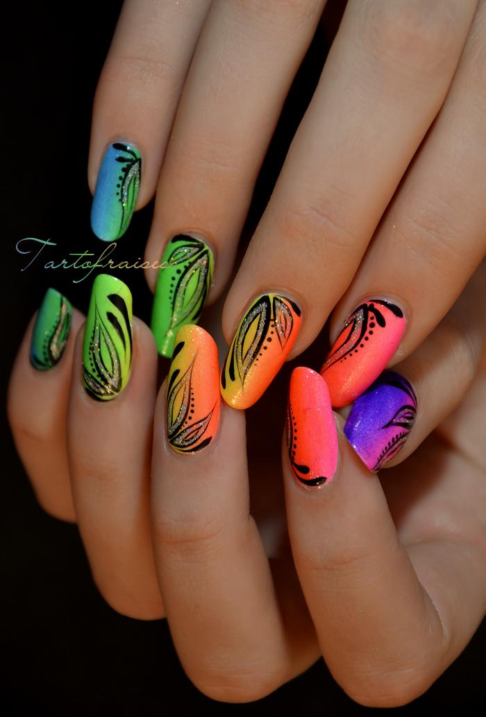 Miami Beach nails | Unghiii | Pinterest | Decoración de uñas ...