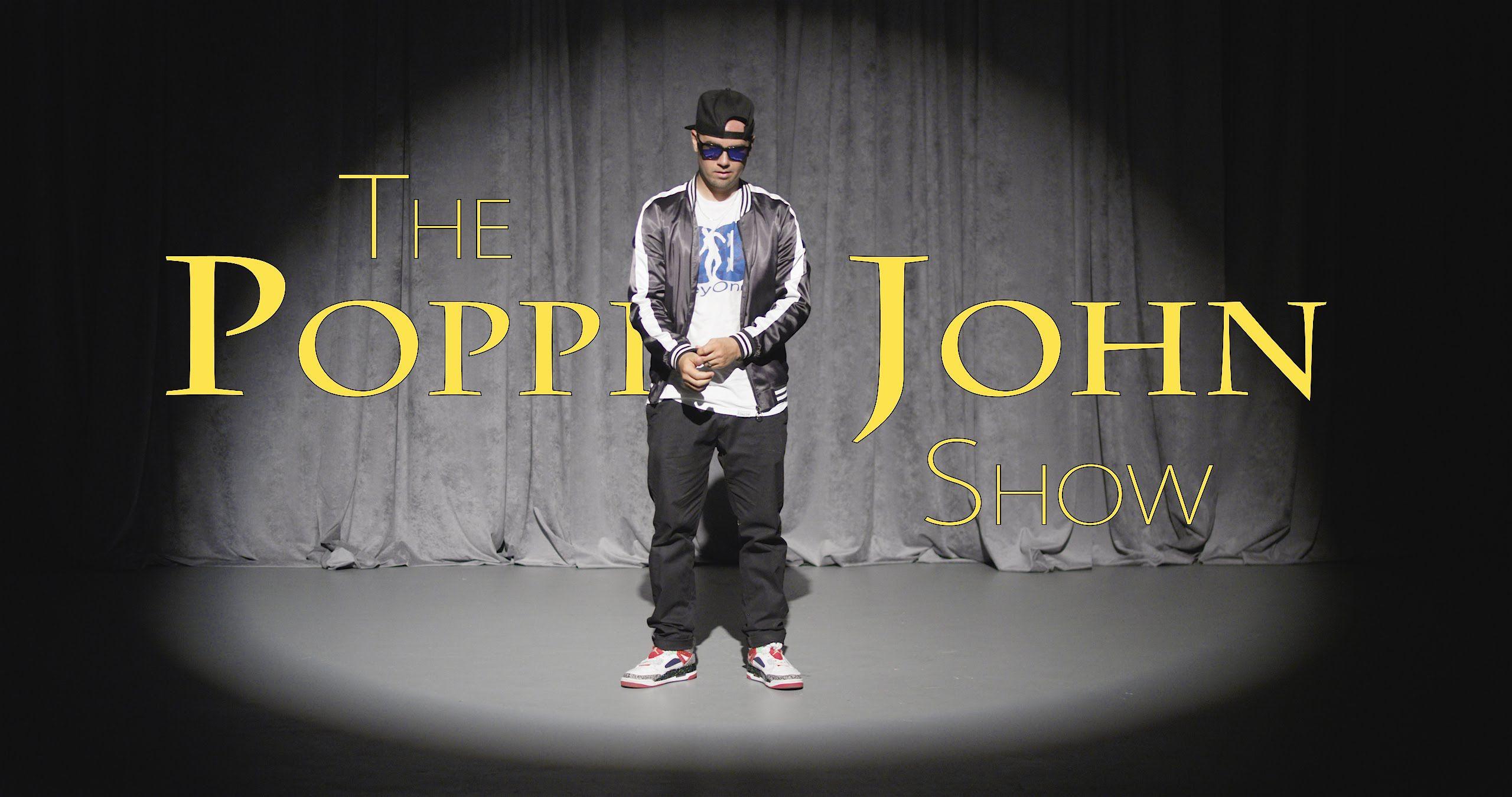 THE POPPIN JOHN SHOW   TRNDSTTR   Poppin john. John. Poppin