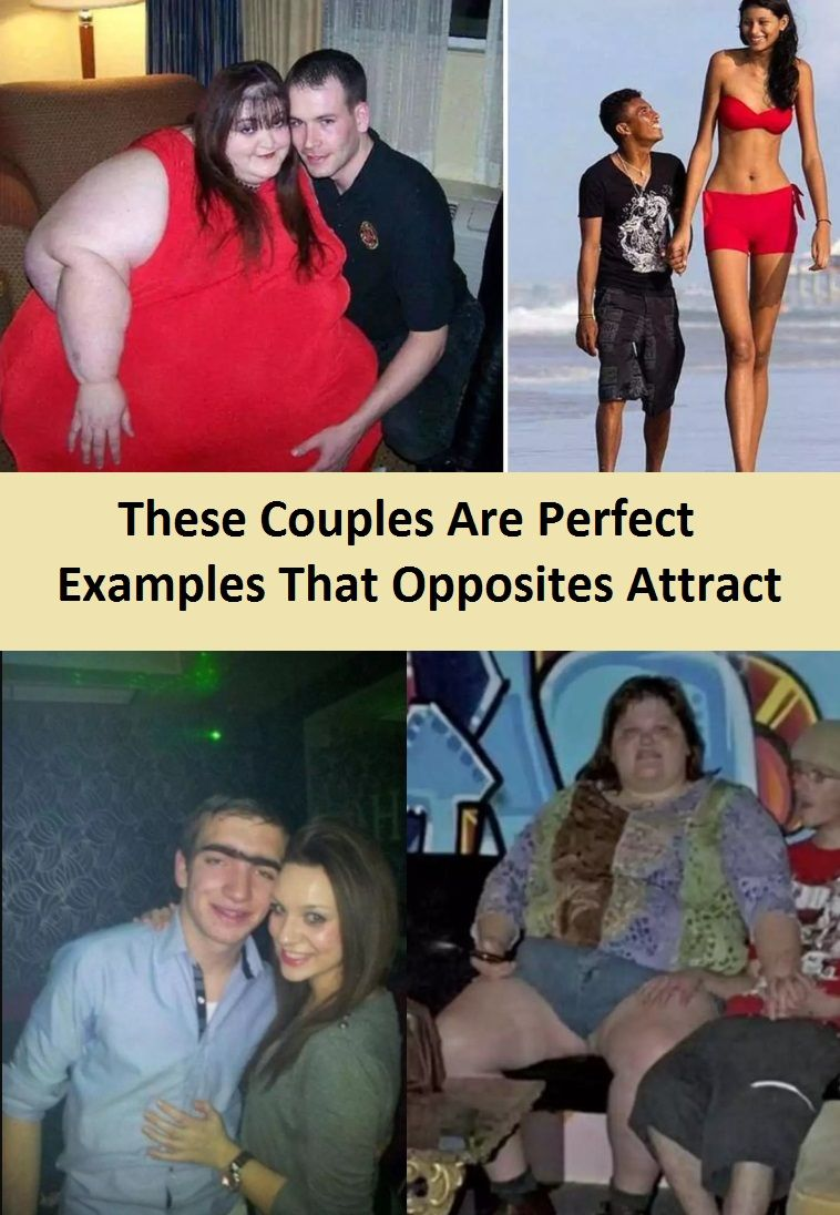 Opposites attract examples